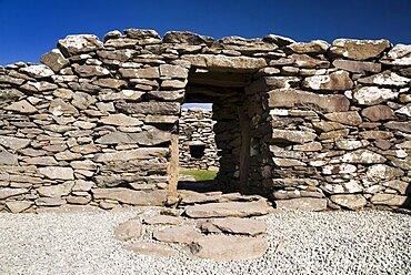 Ireland, County Kerry, Dunbeg, Peninsula Dunbeg Promontory Fort.