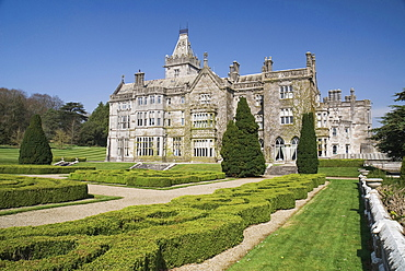 Ireland, County Limerick, Adare, Adare Manor 19th century manor house now a luxury hotel and golf course.