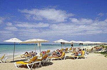 Cape Verde Islands, Sal Island, Santa Maria, Santa Maria Beach.,