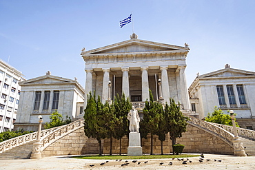 Greece, Attica, Athens, National Library of Greece.