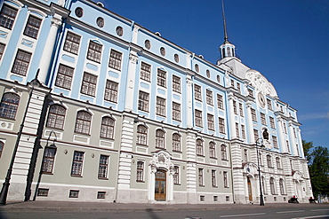 Russia, St Petersburg, City Centre architecture.