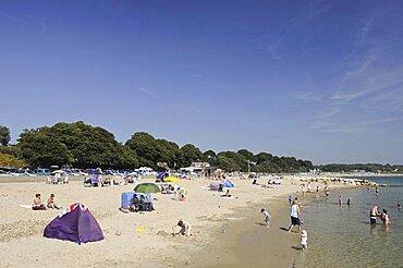 England, Dorset, Christchurch, Mudeford Beach.