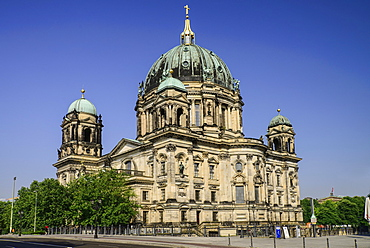 Germany, Berlin, Berliner Dom, Berlin Cathedral, General view.