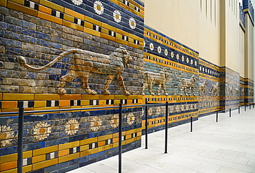 Germany, Berlin, Pergamon Museum, The Babylon Processional Way.