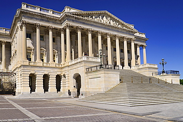 USA, Washington DC, Capitol Building, Angular iew of the House of Representatives.