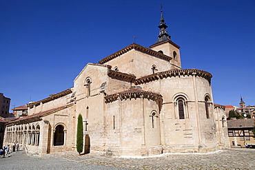 Spain, Castille-Leon, Segovia, Church of San Millan.