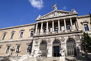 Spain, Madrid, National Library.