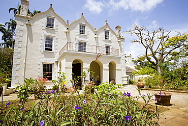 WEST INDIES Barbados St Peter The Jacobean plantation house and garden of St Nicholas Abbey