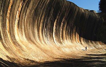 Australia Western Australia Wagin Wave Rock - Eroded Lava Tube Antipodean Aussie Australian Oceania Oz