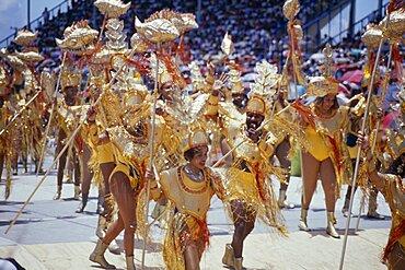 Crop Over sugar cane harvest festival, Grand Kadooment carnival parade the finale to five weeks of celebration, Barbados