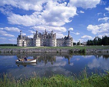 Chateau Chambord, Loir et Cher, Loire Valley, France