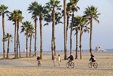 South Bay cycle route Santa Monica, Santa Monica, United States of America