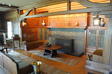 Living Room The Gamble House Pasadena, Valley & Pasadena, United States of America