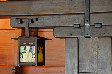 Wood & lantern detail Living Room The Gamble House Pasadena, Valley & Pasadena, United States of America