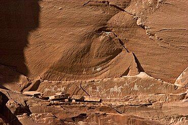 Petroglyphs, Canyon de Chelly, Arizona, United States of America