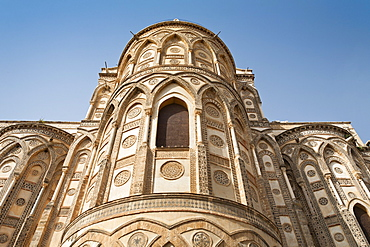 Apse of Monreale Cathedral, Palermo, Sicily, Italy