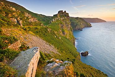 Valley of the Rocks, Exmoor National Park, Devon, England, United Kingdom, Europe