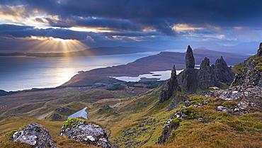 Old Man of Storr, Isle of Skye, Inner Hebrides, Scotland, United Kingdom, Europe