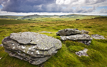 Chinkwell Tor, Dartmoor National Park, Devon, England, United Kingdom, Europe