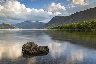Crummock Water in the Lake District National Park, UNESCO World Heritage Site, Cumbria, England, United Kingdom, Europe