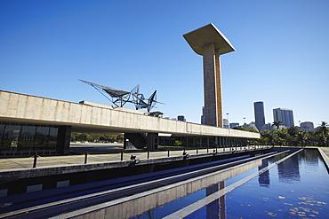 World War Two Memorial in Parque do Flamengo, Gloria, Rio de Janeiro, Brazil, South America