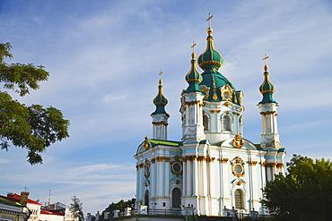 St. Andrew's Church, Kiev, Ukraine, Europe
