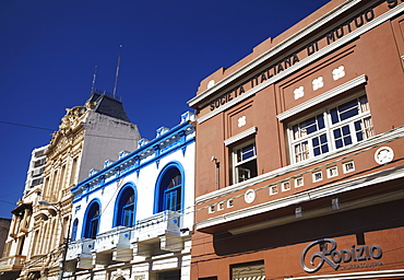 Colonial architecture, Asuncion, Paraguay, South America