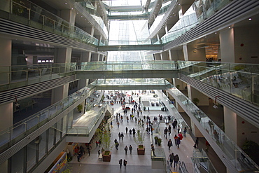 Guangzhou Library, Zhujiang New Town area, Guangzhou, Guangdong, China, Asia