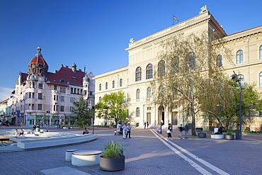 Attila Jozsef Science University in Dugonics Square, Szeged, Southern Plain, Hungary, Europe