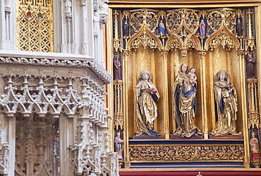 Interior of Cathedral of St. Elizabeth, Kosice, Kosice Region, Slovakia, Europe