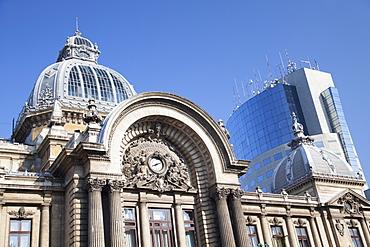 Economic Consortium Palace and Bucharest Financial Plaza, Historic Quarter, Bucharest, Romania, Europe