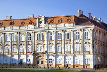 Baroque Palace in Piata Unirii, Timisoara, Banat, Romania, Europe