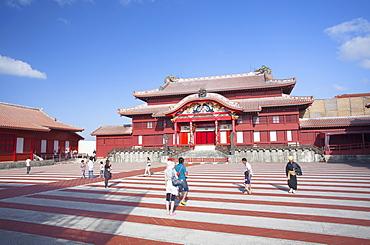 Shuri Castle, UNESCO World Heritage Site, Naha, Okinawa, Japan, Asia