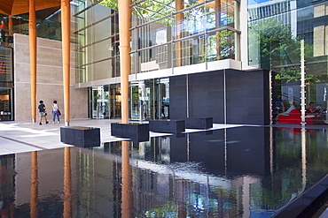 Entrance of Auckland Art Gallery, Auckland, North Island, New Zealand, Pacific