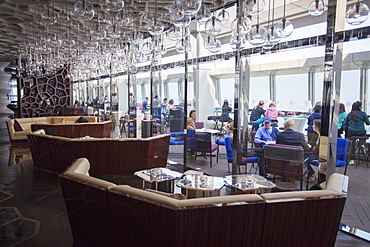 Ozone bar (highest in the world) in Ritz Carlton inside ICC, Kowloon, Hong Kong, China, Asia
