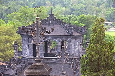 Tomb of Khai Dinh, UNESCO World Heritage Site, Hue, Thua Thien-Hue, Vietnam, Indochina, Southeast Asia, Asia