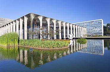 Itamaraty Palace, UNESCO World Heritage Site, Brasilia, Federal District, Brazil, South America