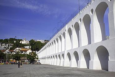 Arcos da Lapa (Carioca Aqueduct), Lapa, Rio de Janeiro, Brazil, South America