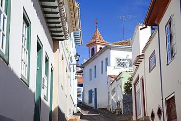 Colonial architecture, Diamantina, UNESCO World Heritage Site, Minas Gerais, Brazil, South America