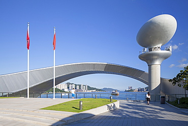 Kai Tak Cruise Terminal, designed by Foster and Partners, Kai Tak, Kowloon, Hong Kong, China, Asia