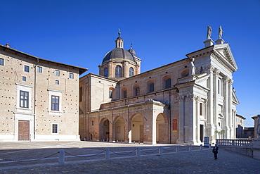 Duomo (Cathedral), Urbino, UNESCO World Heritage Site, Le Marche, Italy, Europe