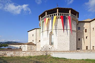 Malatesta Fort, Ascoli Piceno, Le Marche, Italy, Europe