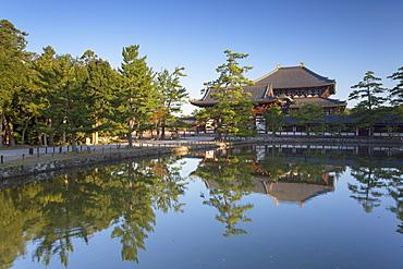Todaiji Temple at dawn, UNESCO World Heritage Site, Nara, Kansai, Japan, Asiapan