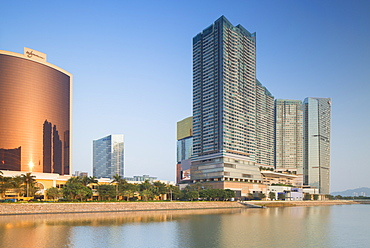 Wynn Hotel and One Central complex, Macau, China, Asia