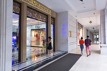 Union Square shopping mall, Ho Chi Minh City, Vietnam, Indochina, Southeast Asia, Asia