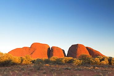 Kata Tjuta (The Olgas), UNESCO World Heritage Site, Uluru-Kata Tjuta National Park, Northern Territory, Australia, Pacific