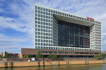 Der Spiegel building, Hamburg, Germany, Europe