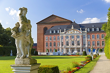 Basilica of Constantine and Rococo Palace, Trier, Rhineland-Palatinate, Germany, Europe