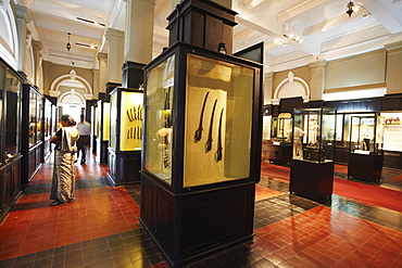 Relics from Polonnaruwa period in National Museum, Cinnamon Gardens, Colombo, Sri Lanka, Asia