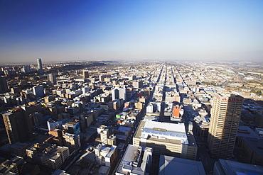 View of east downtown Johannesburg, Gauteng, South Africa, Africa